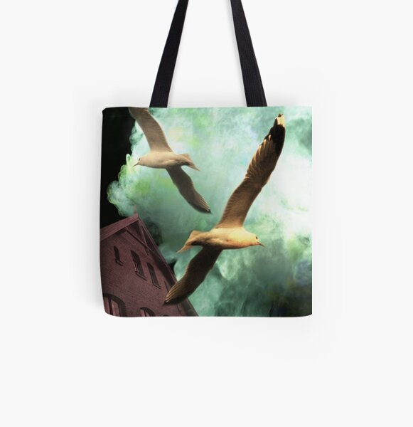 The Fisherman House All Over Print Tote Bag
