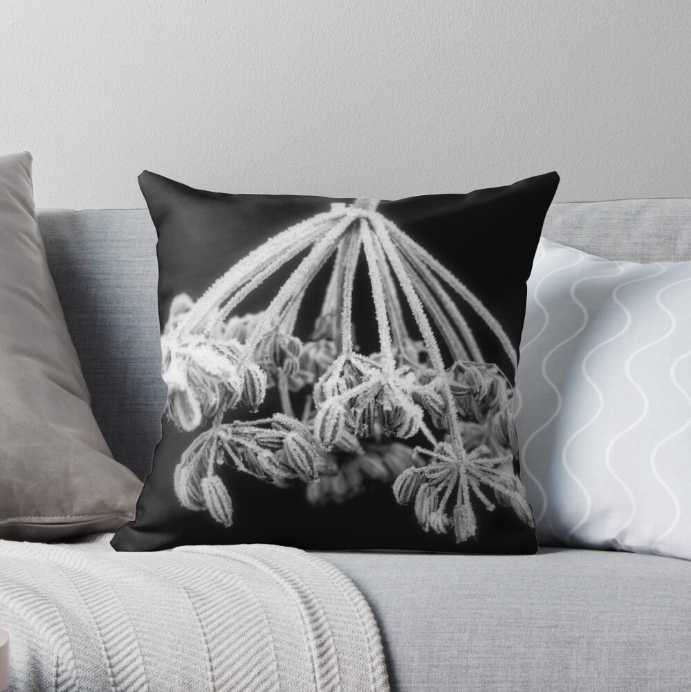 Sugar Frosting #2 Throw Pillow