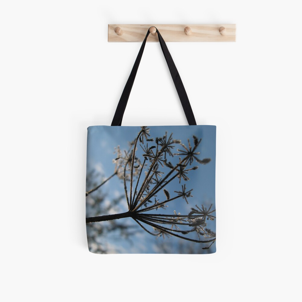 Frosty Stems #5 Tote Bag