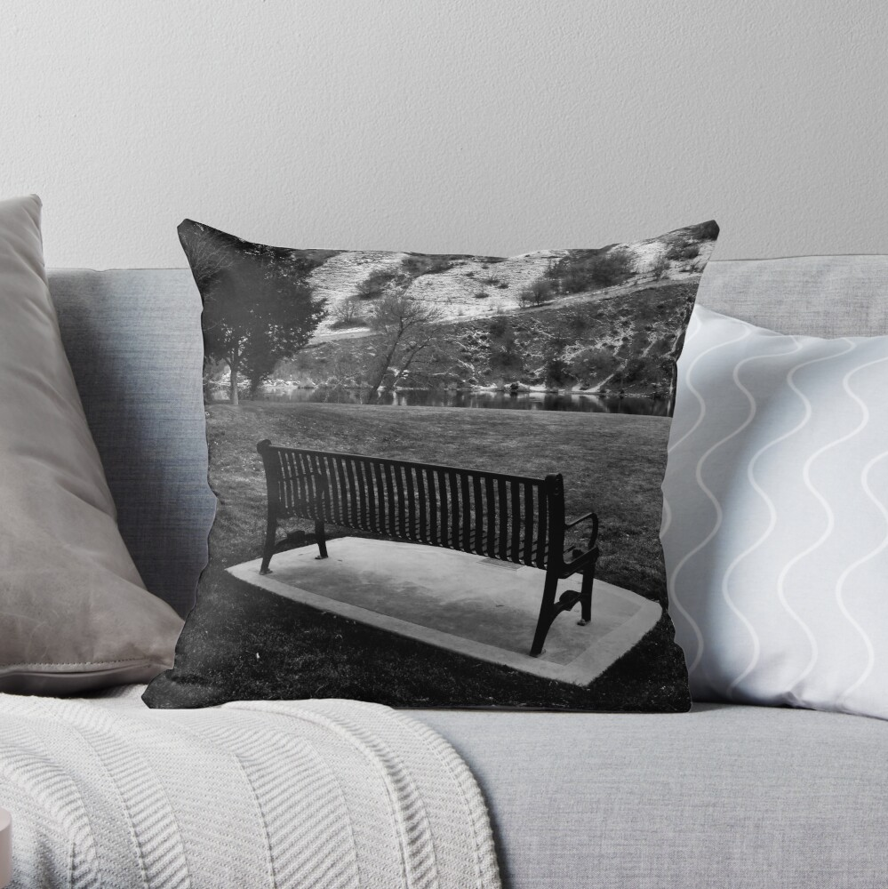 Saving a Place for You Throw Pillow