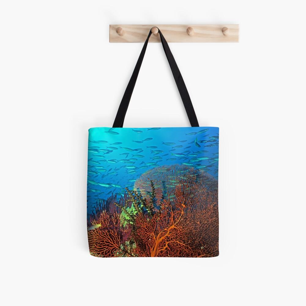 Solomons reef scene Tote Bag