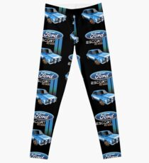 Blue Esc Leggings