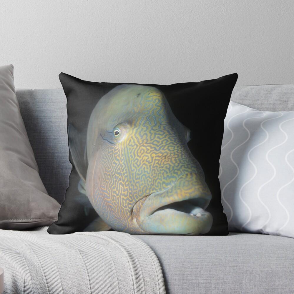 Tatoo Throw Pillow