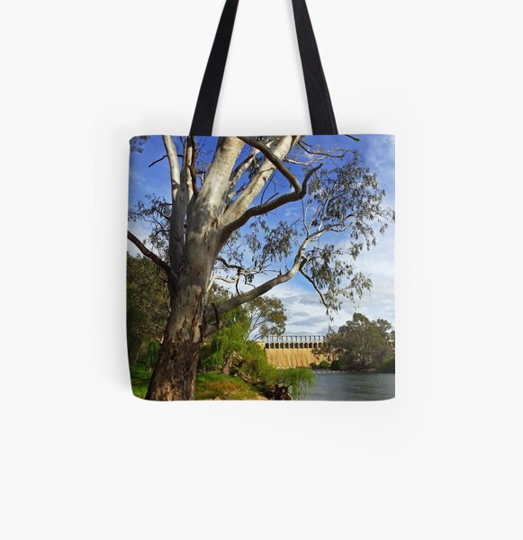 Murray River at Lake Hume All Over Print Tote Bag