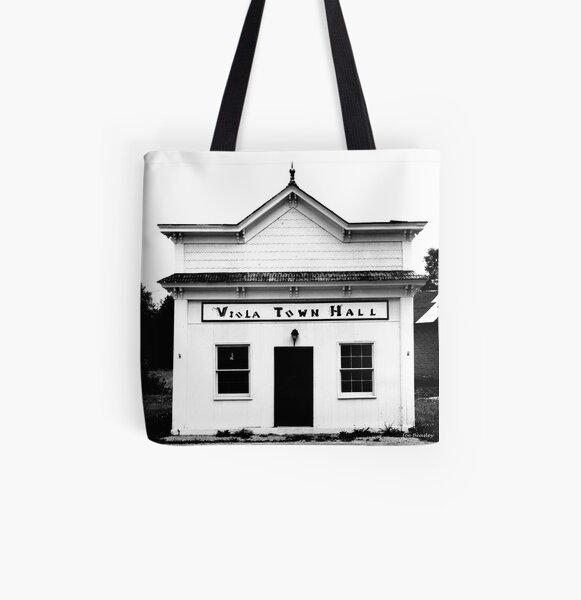 Viola Town Hall All Over Print Tote Bag