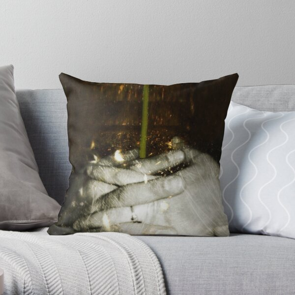 A flower to celebrate our love Throw Pillow
