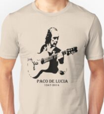 Paco De Lucia Silhouette Unisex T-Shirt