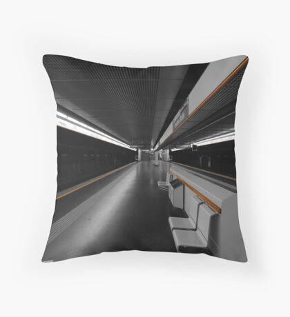 Deeper Underground Throw Pillow