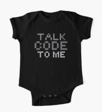 Talk code to me One Piece - Short Sleeve