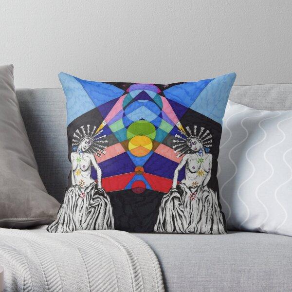 Chakra Throw Pillow