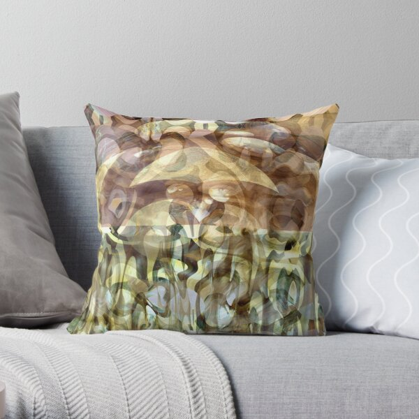 Abstract Serie I Throw Pillow