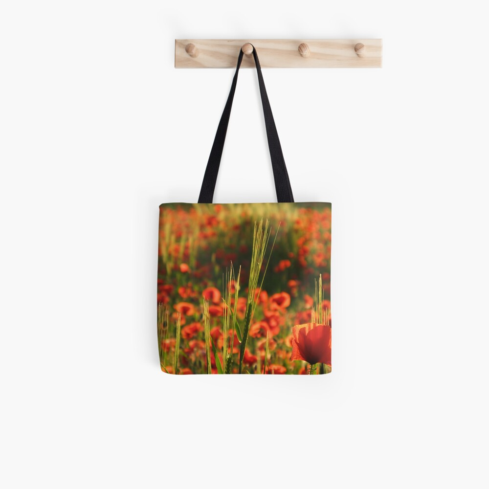 Poppies2 Tote Bag