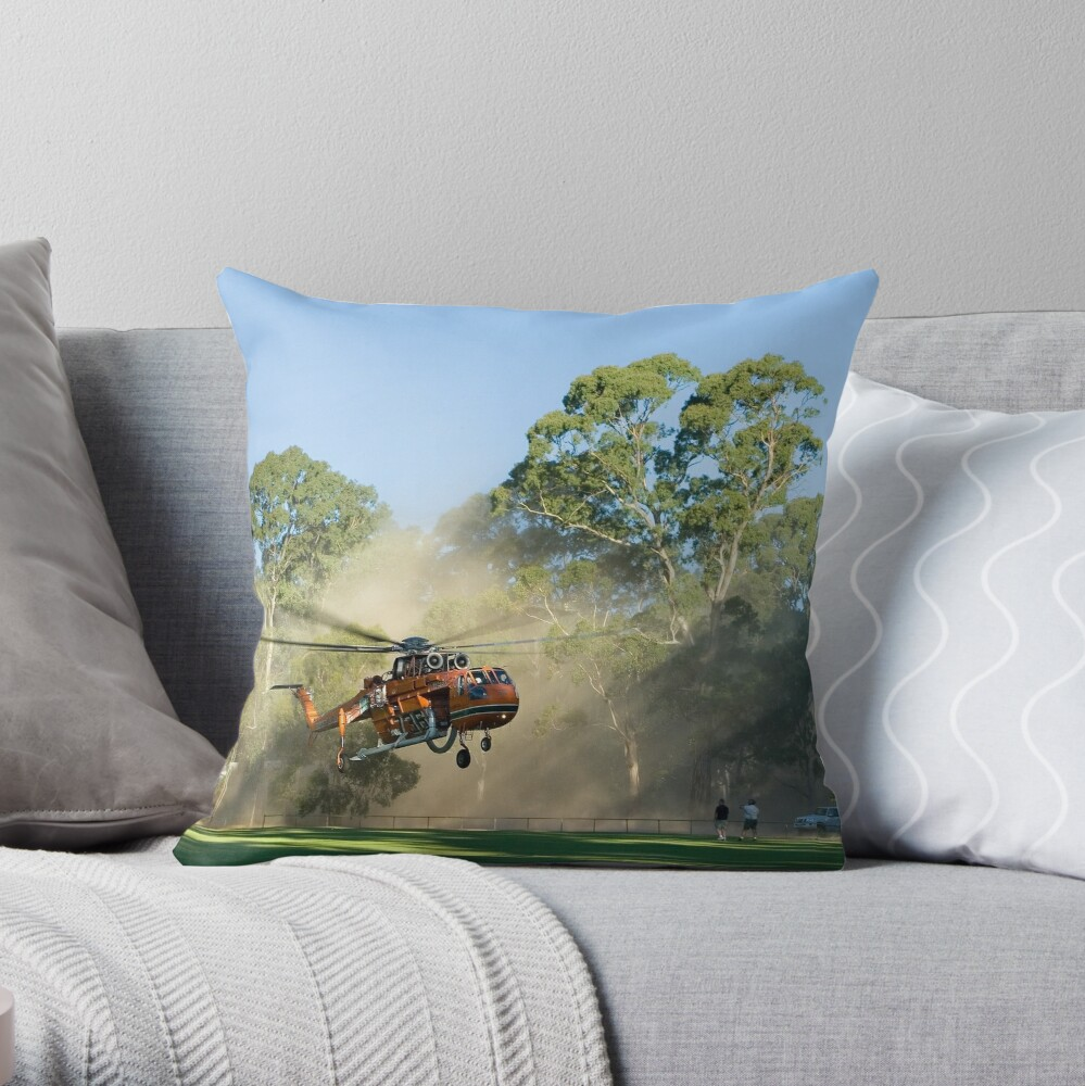 And LIFTOFF! Throw Pillow
