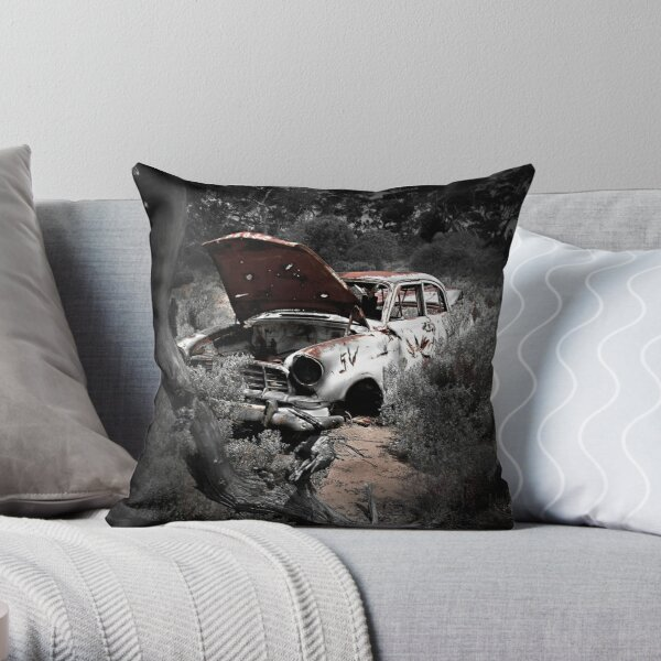 Old Holdens Never Die? Throw Pillow