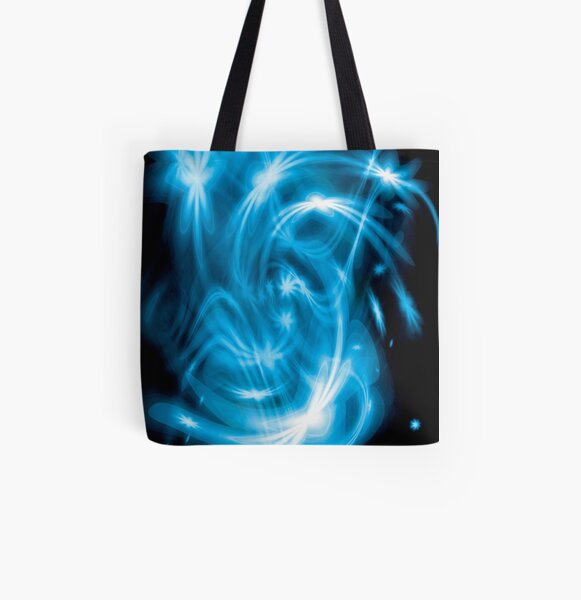 Blue Stars  All Over Print Tote Bag