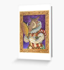 Sir Warthog Greeting Card
