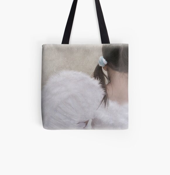heaven must be missing an angel... All Over Print Tote Bag