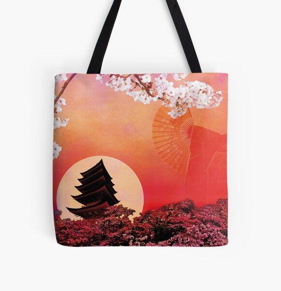 RISING SUN All Over Print Tote Bag
