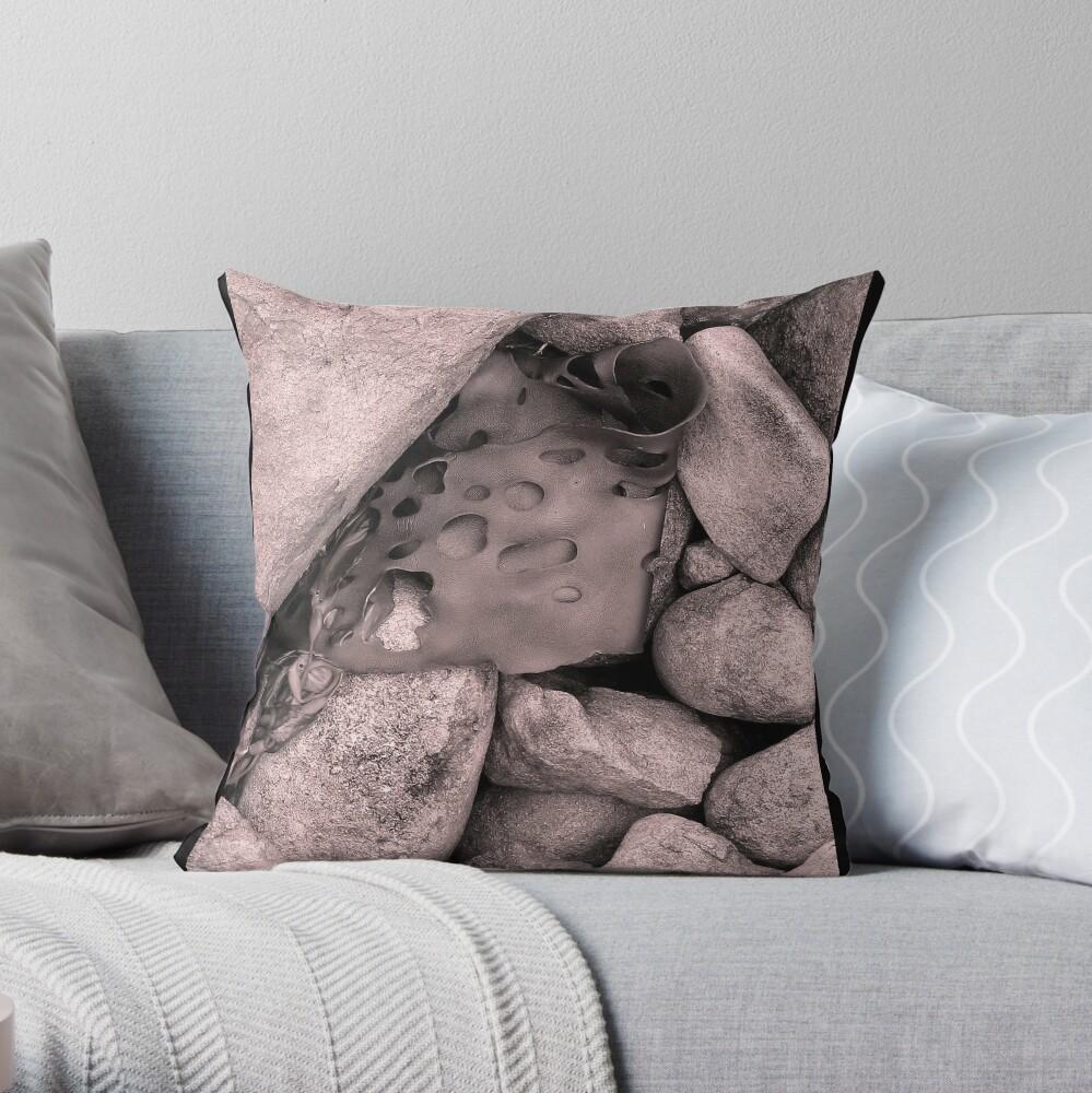 Rock Kelp Throw Pillow