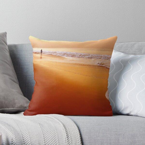 Browny Morning Throw Pillow