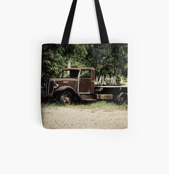Keep on Trucking All Over Print Tote Bag