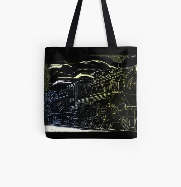 The Newfie Bullet in the Gaff Topsails All Over Print Tote Bag