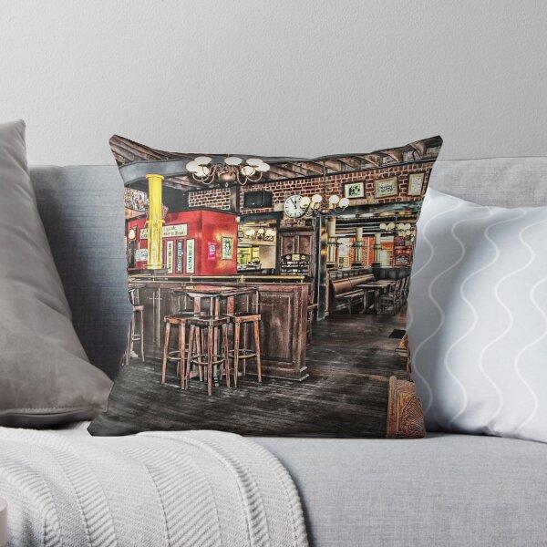 Belgian Beer Cafe Adelaide Throw Pillow
