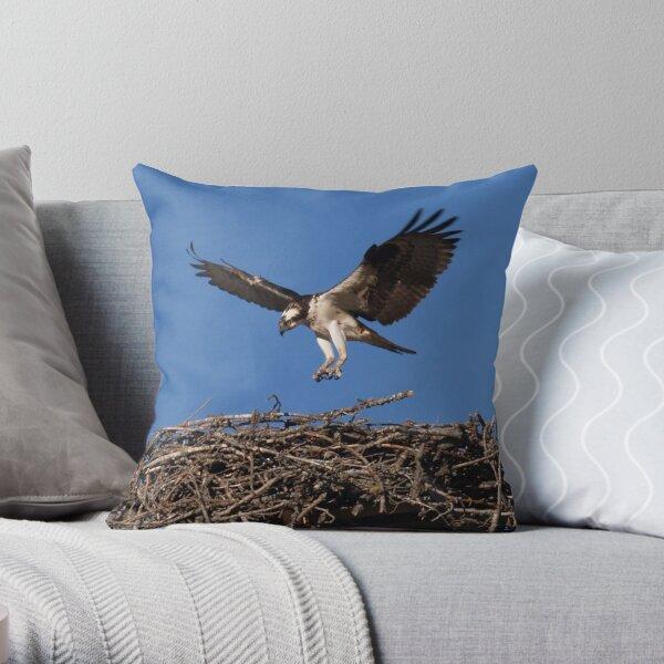 Seahawk Homecoming I Throw Pillow