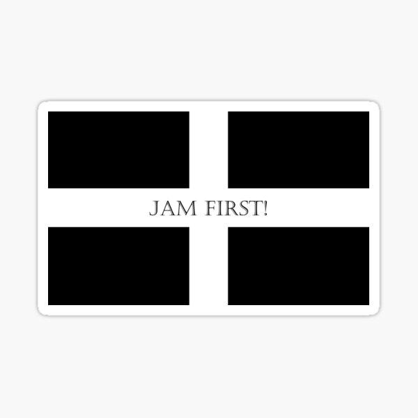 Jam First Sticker