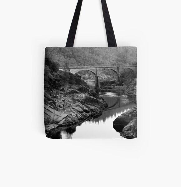 American Bridge All Over Print Tote Bag