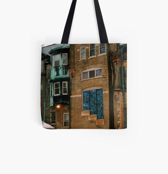 Fancy Sidewalls All Over Print Tote Bag