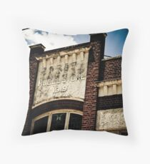 Model Store 1919 Throw Pillow