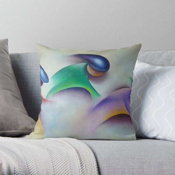Cycling Effect Throw Pillow