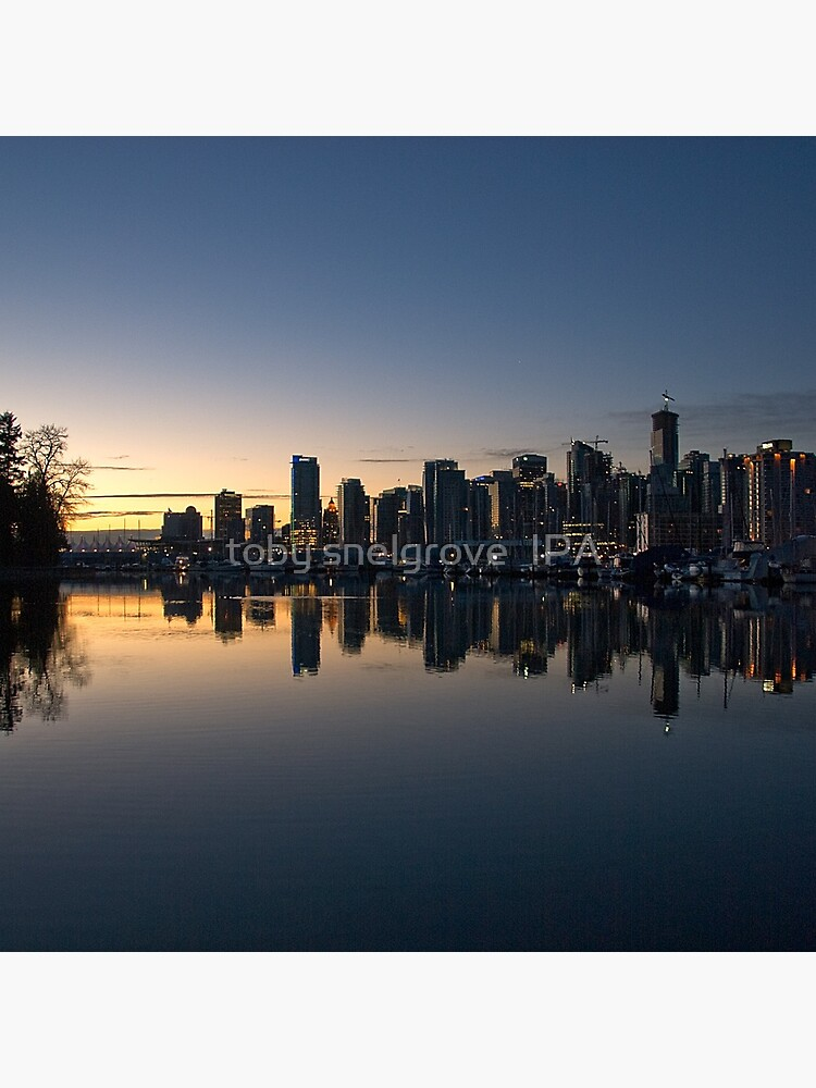Vancouver, BC  Morning by tobysnelgrove