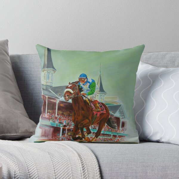 Race of A Lifetime   Throw Pillow