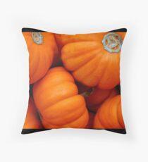 pumpkin 01 Throw Pillow