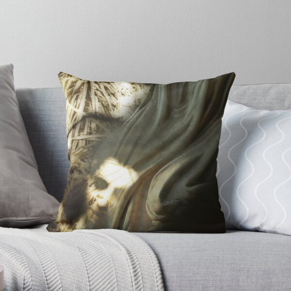 Shaped by our thoughts Throw Pillow