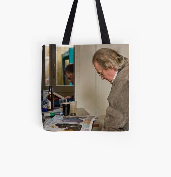 British pub series - Repetition All Over Print Tote Bag