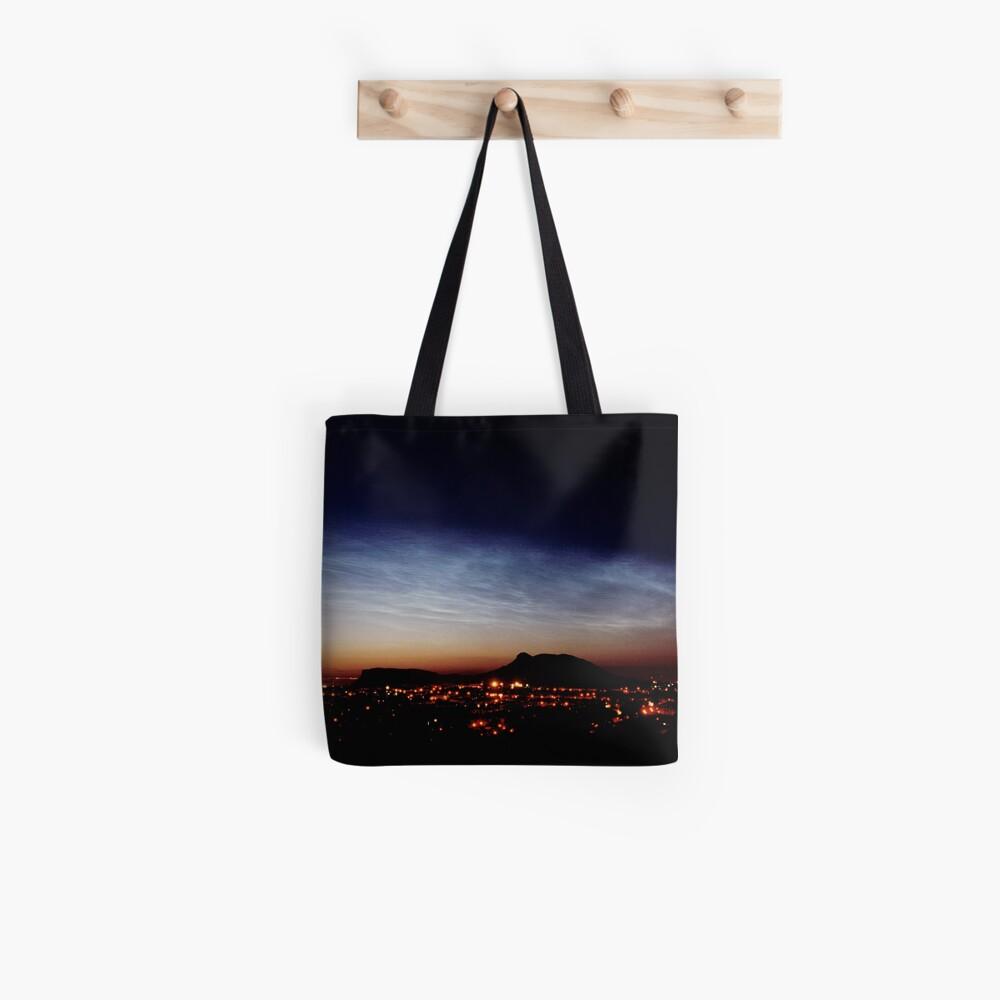 Noctilucent cloud over Arthur's Seat Tote Bag