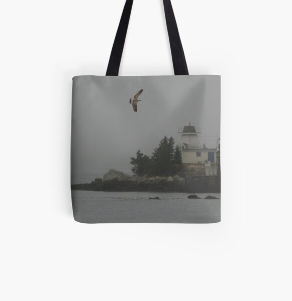 Welcome Home - In Memory of the Crew of the Bonnie Lou II All Over Print Tote Bag