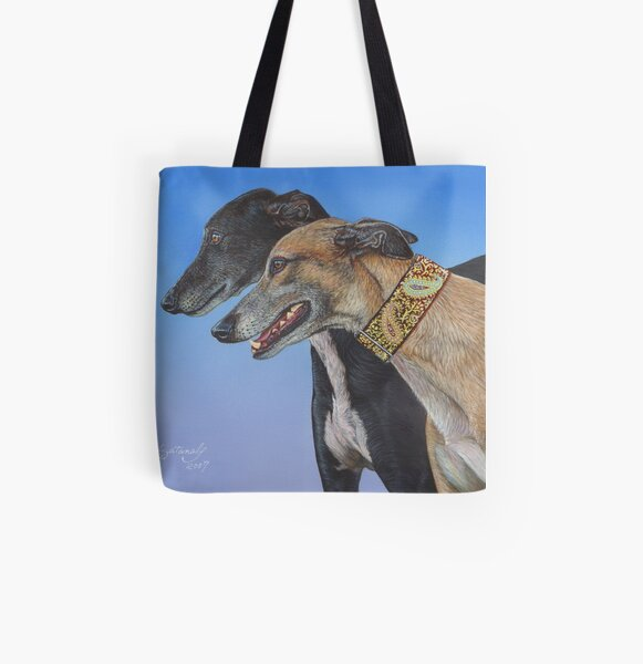 Dynamic Duo All Over Print Tote Bag
