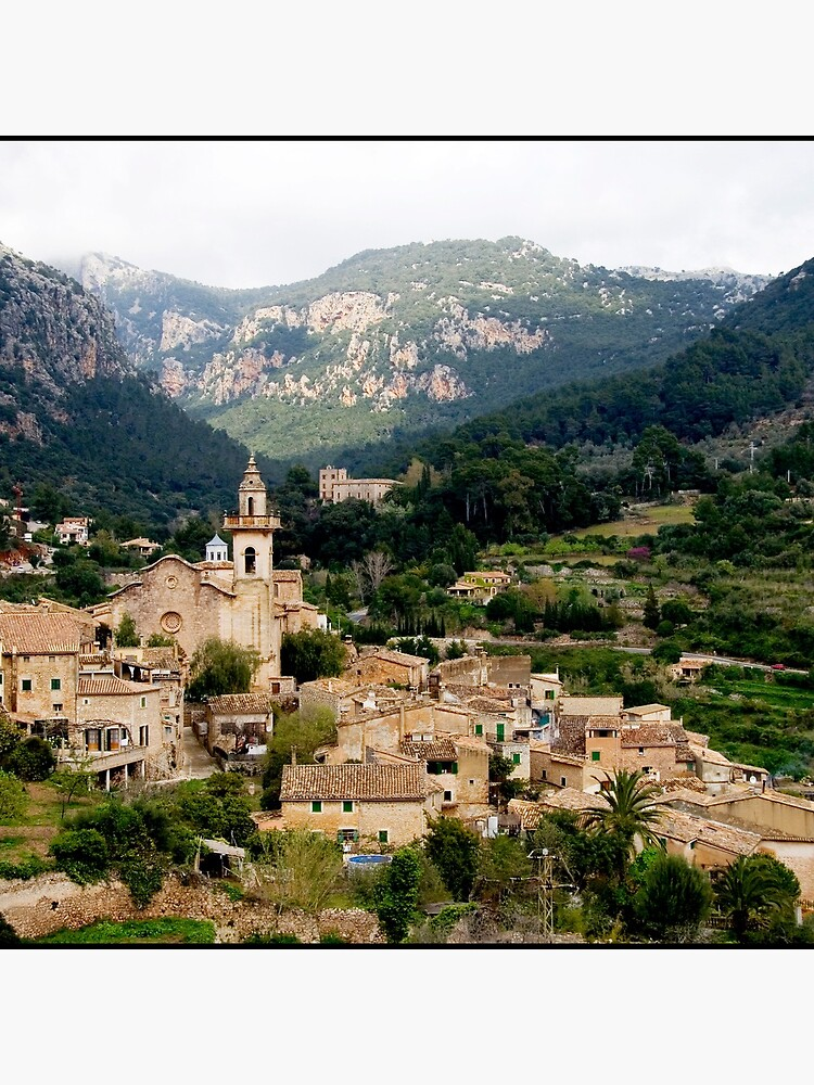 Spanish town of Valdemossa in Mallorca by rogues70