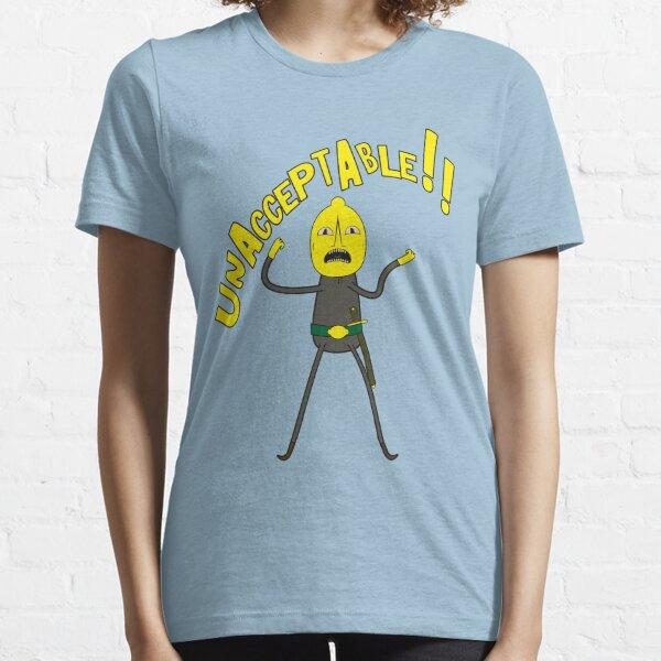 Adventure Time, Earl of lemongrab -  Unacceptable Essential T-Shirt