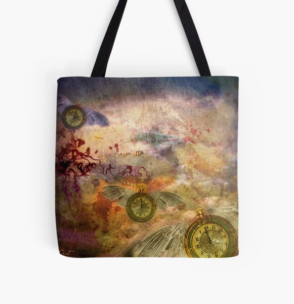 Time Flies... All Over Print Tote Bag