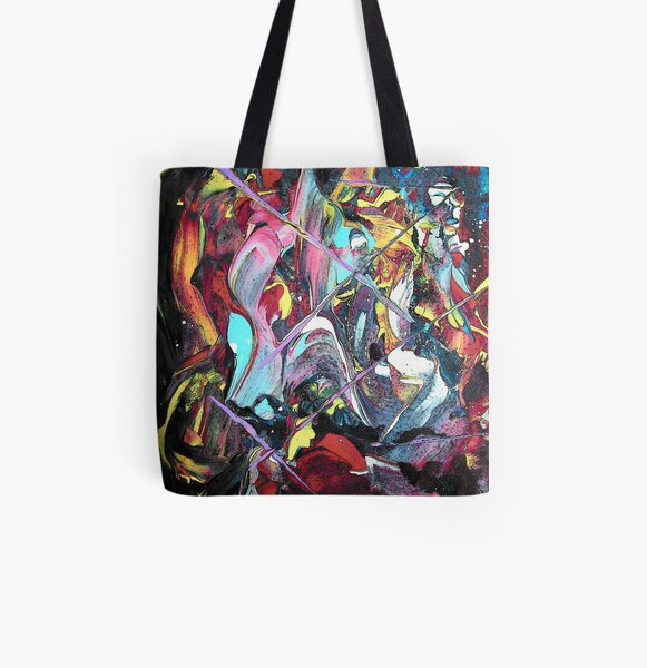 The Lighter Side All Over Print Tote Bag