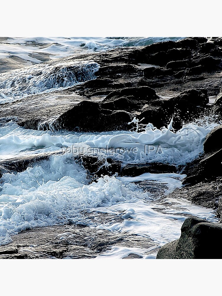 Foaming Shore by tobysnelgrove