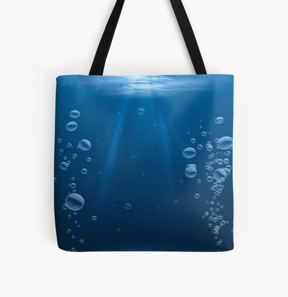 Submerged All Over Print Tote Bag