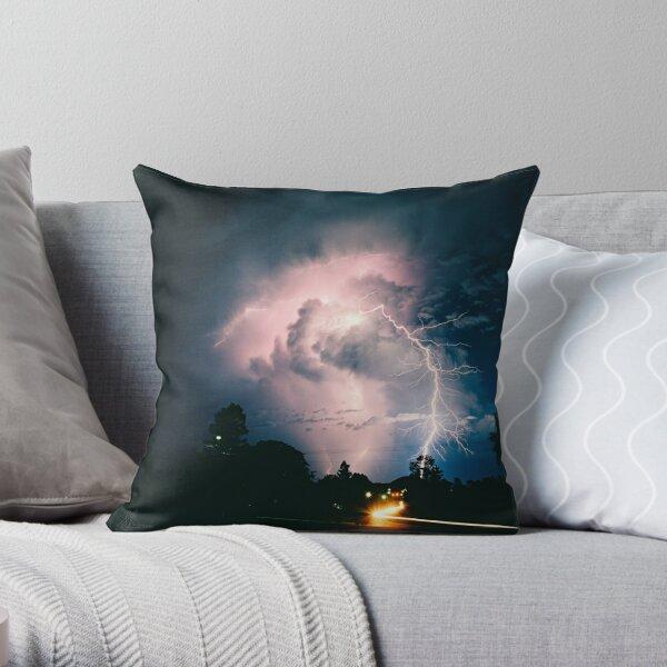 Blitzen Throw Pillow