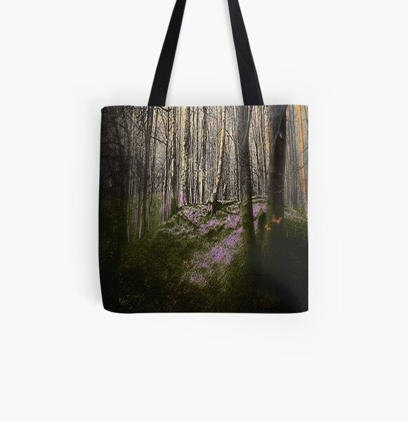 Magical Forest All Over Print Tote Bag