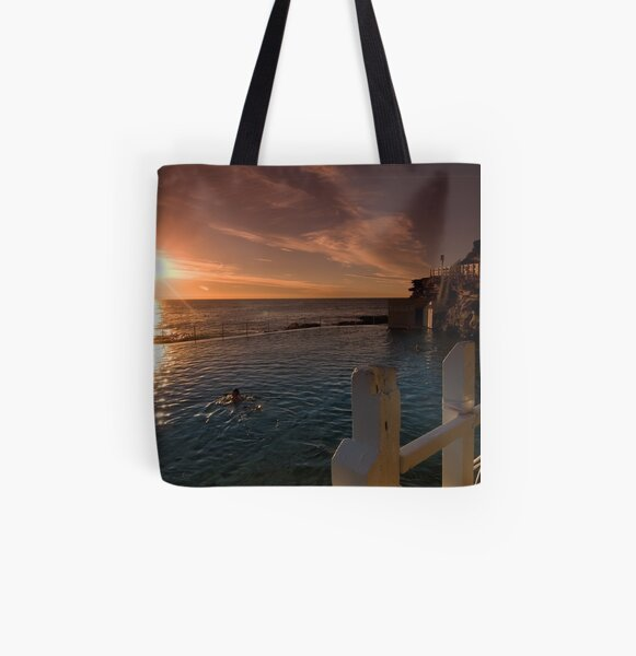 Early Morning Dip All Over Print Tote Bag